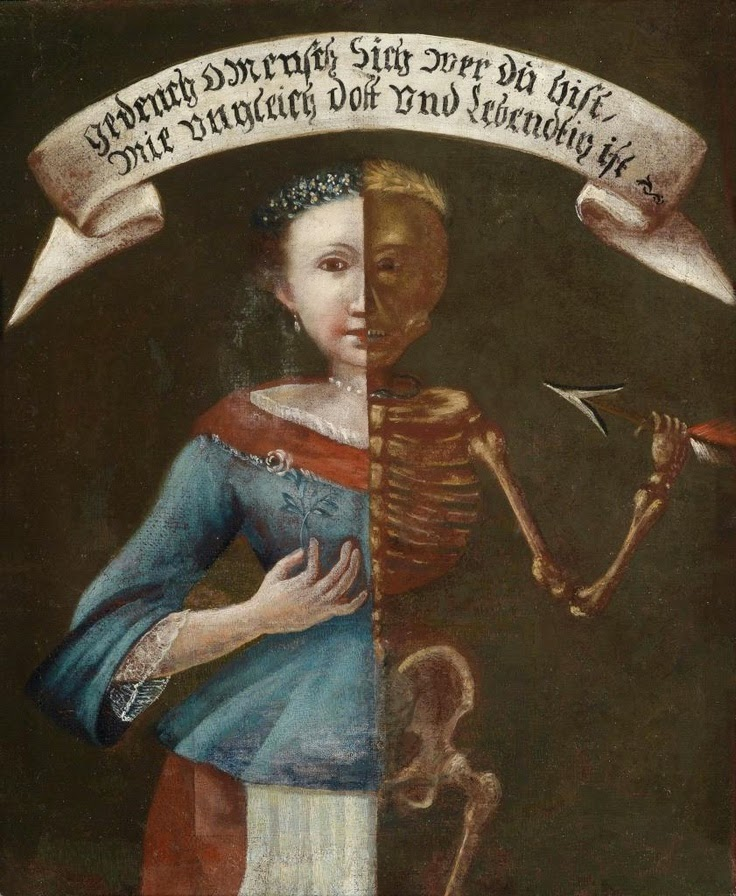 смерть1 Memento mori, Southern German School 18th century.jpg
