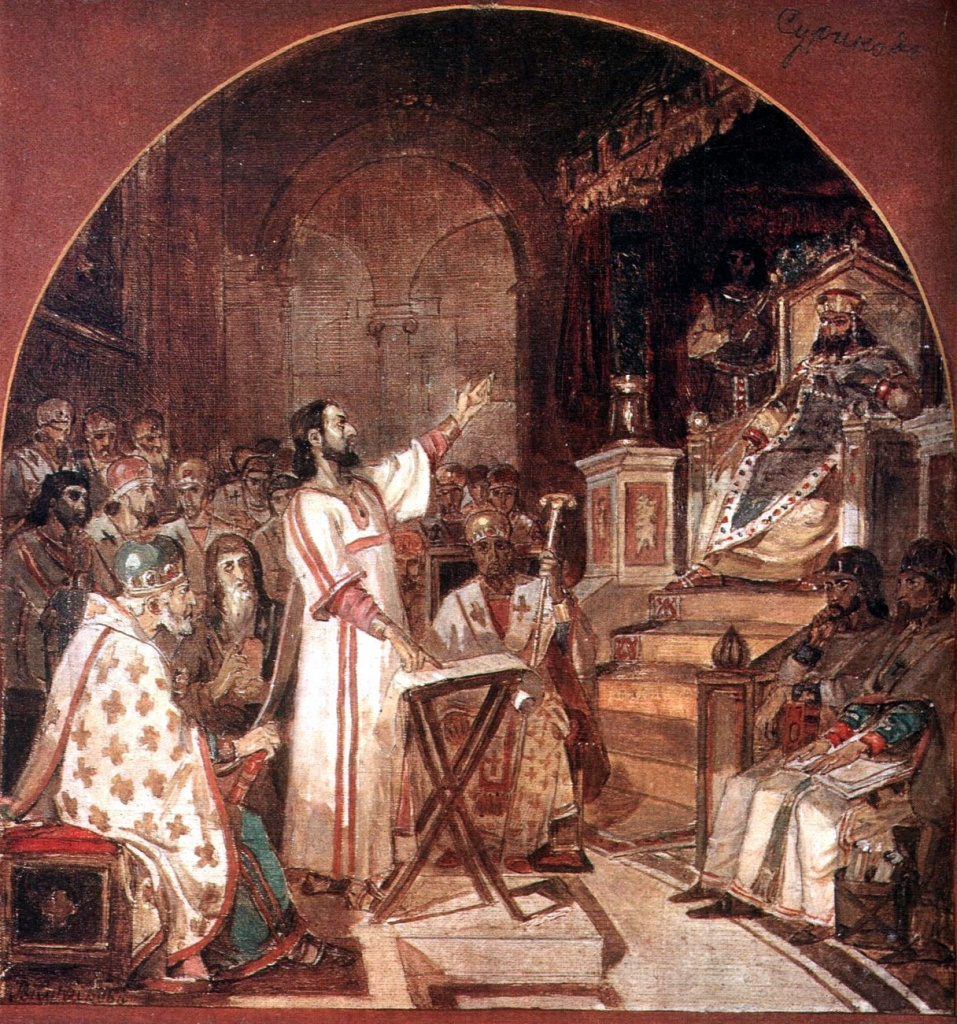 ВЕЛИКАЯ СХИЗМА first-ecumenical-council-of-nicaea-1876.jpg